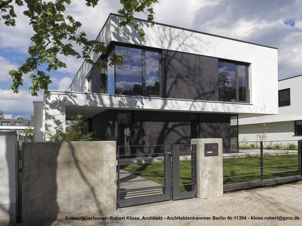 einfamilienhaus architekt klose berlin 1 home. Black Bedroom Furniture Sets. Home Design Ideas